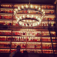 Butcher and the Rye, Pittsburgh.  Whiskey for miles...