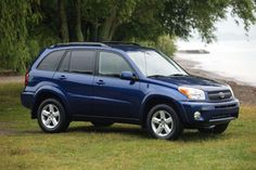 2004 Toyota RAV4. 2001-2003 4WD auto, 20/25 mpg....  Maybe would like in red or silver