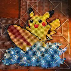 Pikachu perler beads by pokemon.geek.boutique