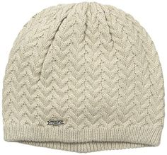 Calvin Klein Women's Cable Beanie with Plush Lining