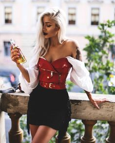 Off Shoulder Blouse, Mini Skirts, How To Wear, Instagram, Outfits, Women, Stylish, Shirt, Fashion
