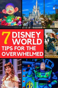 Disney World Tips to take the stress out of planning a Disney vacation!