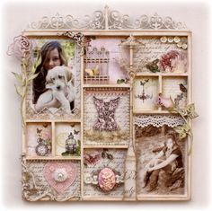 Such a Pretty Mess: Dusty Attic & Websters Pages! A Match made in Heaven!-configuration box- mixed media- art-altered box- DIY - craft & hobby- distressed -altered