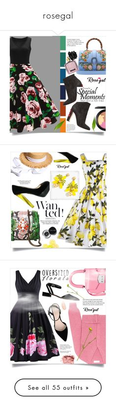 """""""rosegal"""" by ainzme ❤ liked on Polyvore featuring Seed Design, Dolce&Gabbana, Gucci, MAC Cosmetics, Victoria's Secret, vintage, Shourouk, J.Crew, Bobbi Brown Cosmetics and Victoria Beckham"""