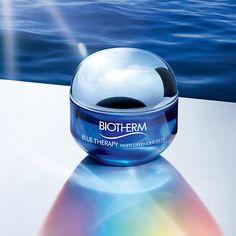 La línea Blue Therapy de Biotherm Multidefender es ideal para tratamientos de piel seca