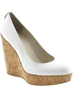 Corkswoon by Stuart Weitzman $375.00  (I love cork!  Too expensive for me though.)
