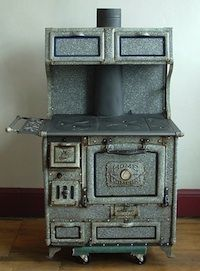 Wood Cook Stoves Kitchen Queen And Bakers Oven