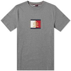 Buy the Hilfiger Collection Flag Logo Tee in Dark Navy & Port Royal from leading mens fashion retailer END. - only Fast shipping on all latest Hilfiger Collection products Tommy Jeans T Shirt, Flag Logo, Tommy Hilfiger, Polo Ralph Lauren, Short Sleeves, Mens Fashion, Tees, Mens Tops, Clothes