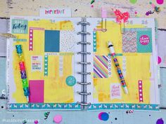 This week in my @the_happy_planner before the pen!