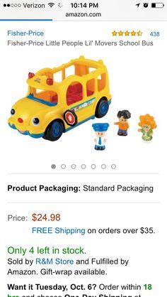 Little movers school bus