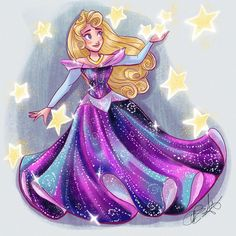 Cute Disney, Disney Style, Disney Art, Walt Disney, Princess Art, Princess Disney, Sleeping Beauty Art, Disney Descendants, Disney Fashion