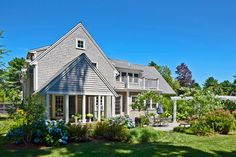 traditional exterior by Sean Papich Landscape Architecture/ Types Of Architecture, Colonial Architecture, Landscape Architecture, Cottage Renovation, Flagstone Patio, Traditional Exterior, Cabins And Cottages, Victorian Homes, Beautiful Homes