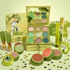 Sprinkle A Little Magic On Your Daily Makeup With This Tinker Bell Colourpop Collection! - beauty - Disney Inspired Makeup, Disney Makeup, Daily Makeup, Makeup Set, Tinkerbell Makeup, Glitter Hair Spray, Gel Eyeliner Pencil, Peter Pan And Tinkerbell, Colourpop Cosmetics