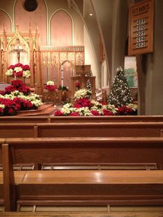 St. Therese of Lisieux, Munhall, Pennsylvania - December 24th, 2012. Father Nick praying before Christmas Eve mass.