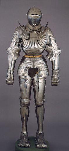Armor ca. 1510-1520 via The Hermitage Museum