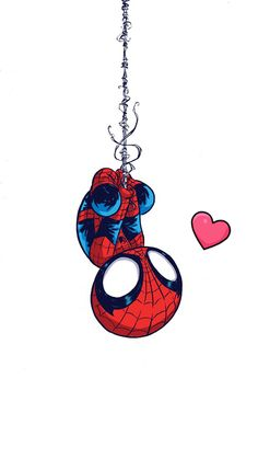 Chibi Spiderman By NaiErideviantartcom On DeviantART - Awesome video baby spiderman dancing