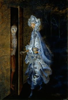 Remedios Varo Uranga (December 1908 - October was a Spanish-Mexican, para-surrealist painter and anarchist. Surrealism Painting, Pop Surrealism, Modern Surrealism, Psychedelic Art, Polychromos, Magritte, Fantastic Art, Horror Art, Surreal Art