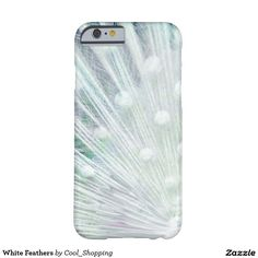 White Feathers Barely There iPhone 6 Case