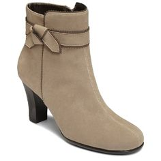 74d5894ef67 Women s A2 by Aerosoles Ground Role - Light Tan Combo Wide Ankle Boots