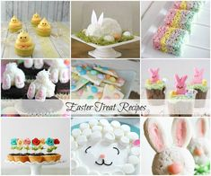 We have collected 30 super cute Easter Treat Recipes perfect for a class party or any Easter celebration! You are sure to find something that you will LOVE.
