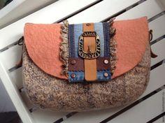 Купить Сумка валяная Джессика ( вариации) - валяная сумка, сумка женская