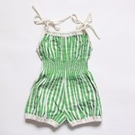 """We called these """"sunsuits""""  I think I had 4 or 5 of these when I was little."""