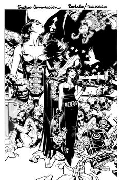 The Sandman - The Endless (Los Eternos) By Bachalo