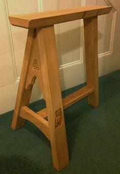 Alnwick Castle Trestle Tables - C T Hollins Bespoke Woodworking