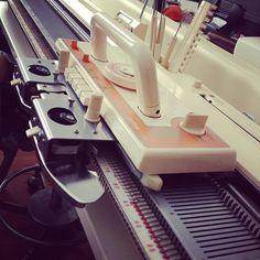 """""""new"""" knitting machine!!!!! #minwee #machineknitting"""
