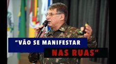 #FernandaSalles - General convoca insatisfeitos para as ruas