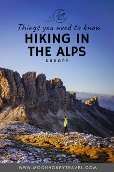 Best Places To Camp, Hiking Europe, Hiking Guide, Stay Safe, Where To Go, Trekking, Need To Know, Wander, Honey