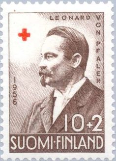 Leonard von Pfaler (1856-1931) Red Cross, Postage Stamps, Finland, Baseball Cards, My Favorite Things, Books, Seals, Livros, Libros