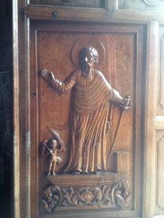 Cebu- Carved front door, Basilica del Santo Niño