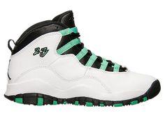 Air Jordan 10 GS White/Verde-Black Release Date