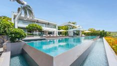 One of the Largest Homes on St. Barts Has Listed for $80 Million – Robb Report St Barts, Painted Stairs, Staircase Design, Large Homes, Cool Paintings, Shelter, Real Estate, House Design, Most Expensive