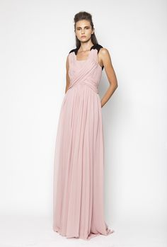 CHRISTOS COSTARELLOS SS12 Silk Chiffon Maxi Dress Chiffon Maxi Dress, Silk Chiffon, Christos Costarellos, Bridesmaid Dresses, Wedding Dresses, Ready To Wear, Spring Summer, How To Wear, Fashion