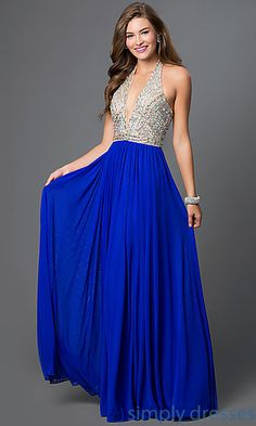 Shop halter prom gowns and beaded pageant dresses at Simply Dresses.  Military-ball gowns bcea620c1d8e