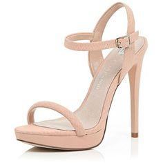 nude sandal heel - Google Search
