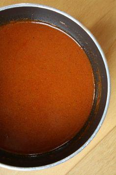 Homemade Enchilada Sauce - recipe from RecipeGirl.com