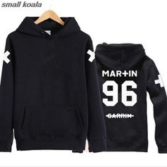 3 Side Print Martin Garrix 'Team Fleece Crewneck Tour hrit hoodies long sleeve casual Lover