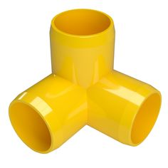 Formufit 1 in Furniture Grade PVC Tee in Yellow 4 yellow pvc pipe - Yellow Things Formufit 1 In. Furniture Grade Pvc Tee In Yellow Furniture Grade Pvc, Pvc Projects, Copper Tubing, Pvc Material, Surface Finish, Plumbing, Packing, Tees, Upcycling