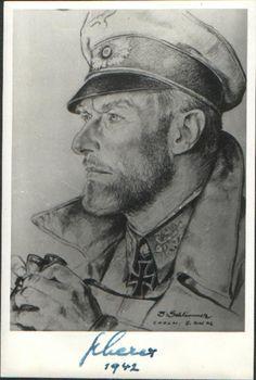 Theodor Scherer drawing by Schlimmer
