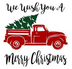 Image result for truck christmas tree illustration