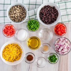 The Best Cowboy Caviar Dip It's sweet and savory, light and satisfying. This pretty cowboy caviar dip tastes as good as it looks. Side Dishes For Bbq, Vegetable Side Dishes, Cowboy Caviar Dip, Texas Caviar, Appetizer Recipes, Salad Recipes, Dip Appetizers, Cowboy Salad, Sweet Potato Nachos