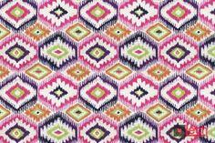 TIPI po raz trzeci, tym razem na różowo :)  Nadruk inspirowany etnicznym motywem, dostępny w kilku wersjach kolorystycznych. Doskonała ozdoba mebli o klasycznej, jak i nowoczesnej bryle. #tipi #modern #fabrics #nadruk #tkaniny
