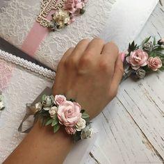 Браслеты для подружек невесты - купить или заказать в интернет-магазине на Ярмарке Мастеров - FBU73RU | Цветочный браслетик для подружки невесты. …