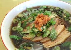 LAX-C: Duck Noodle Soup at E-Sea Fresh, papaya salad at LAX-C express 1100 N Main St, Los Angeles 8 am-8 pm