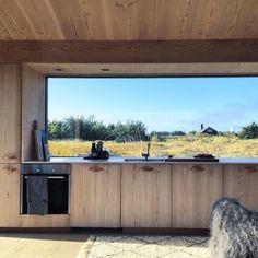 Exterior Design, Home Interior Design, Interior And Exterior, Tiny House, Open Plan Kitchen Diner, Green Architecture, Modern Farmhouse Style, House Goals, Dream Decor