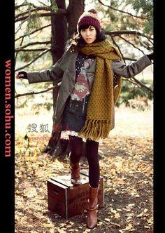Winter Korean Fashion