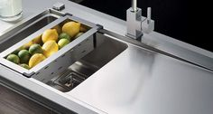 Some stunning kitchen sinks from Kwikot ... The Classique range includes the Sparta, Kiba and Laundry series of stainless steel sinks